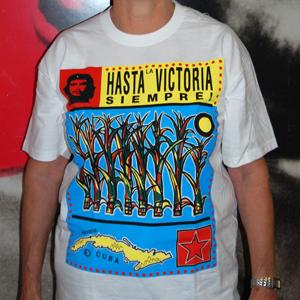 T-Shirt: Hasta la Victoria Siempre - white