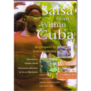 DVD: Salsa from within Cuba - learn to dance