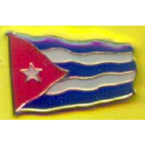 Cuban flag badge