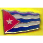 Cuban flag badge