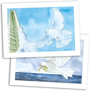 Greetings Cards: Miami 5 - Flight of Freedom