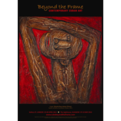 Poster: Beyond the Frame Cuban Contemporary Art exhibition