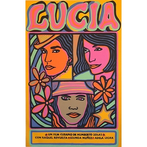 Film poster: Lucia by Raul Martinez 1968