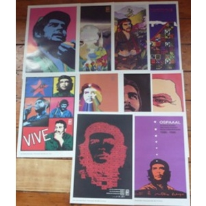 OSPAAL Che Guevara posters - set of 10