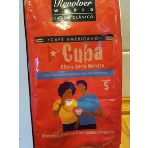 Cuban Coffee: Altura Sierra Maestra 1 pack Ground +  1 pack Beans
