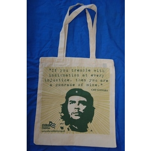 Bag: Che Guevara cotton eco shopper bag