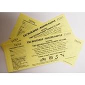 CSC Blockade Buster Raffle tickets � book of 5 tickets