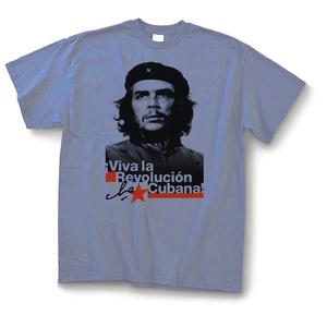 T-shirt: Che - Viva la Revolucion - Light Blue