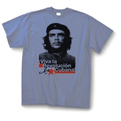 T-shirt: Che - Viva la Revolucion - Light Blue