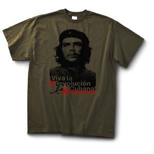 T-shirt: Che - Viva la Revolucion - Olive