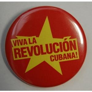 Badge: Viva la Revolucion Cubana!