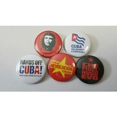 Badges - set of 5 desi...
