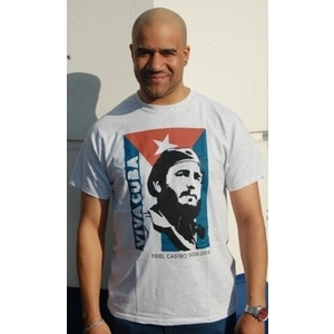 T-shirt: Fidel Castro Viva Cuba!
