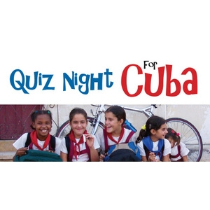Entry Ticket for Quiz Night for Cuba - 25 April 2017