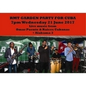 Ticket: Annual Garden Party for Cuba Wed 21 June 2017