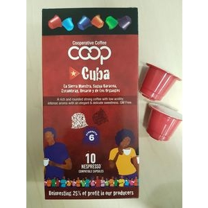 Cuban Coffee: Nespresso compatible Capsules - pack of 10