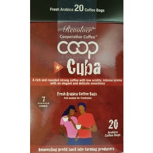 Cuban Coffee: Coffee bags - box of 20