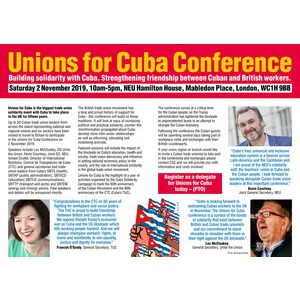 Unions for Cuba Conference tickets