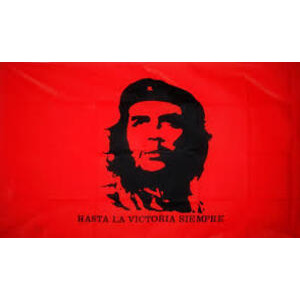 Flag: Red with Che Guevara