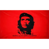 Flag: Red with Che Gue...